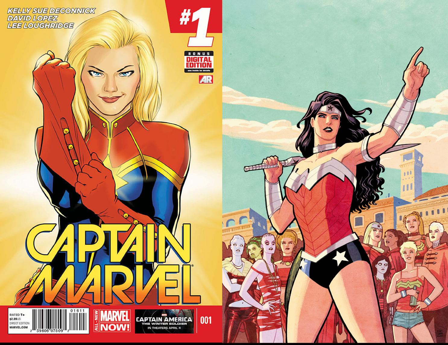 captain marvel vs wonder woman