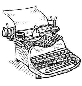 doodle-typewriter-vector-1113333